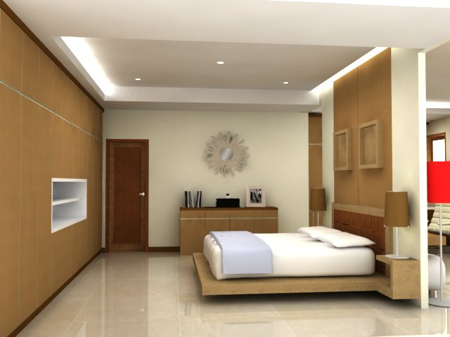 renovasi render interior rumah tinggal wallpaper