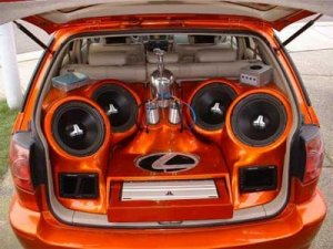 interior car audio design rental