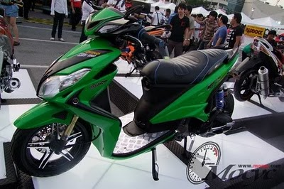 YAMAHA XEON MODIFICATION : BIG SCOOTER