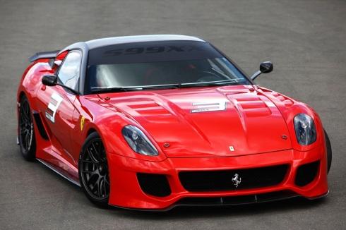 Car Pictures: Ferrari 599XX